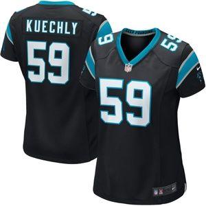 Women's Carolina Panthers Luke Kuechly Jersey